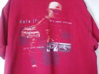 Chase Authentics Dale Earnhardt Jr. Nascar Mens T Shirt XL Red #8 DEI Budweiser