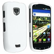 Hard Rubberized Case for Samsung Droid Charge 4G LTE i510 - White