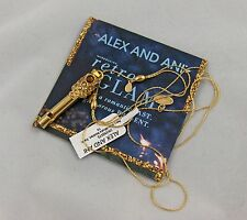 """ALEX AND ANI """"STARLITE"""" WHISTLE NECKLACE RG, NWT, CARD, AA BOX"""