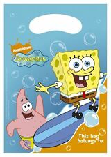 Nickelodeon Spongebob surfing 6 x Party bags (Loot bags)
