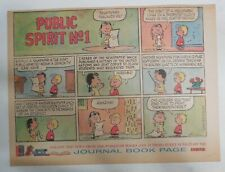 Peanuts  Promo Page by Charles Schulz from 1/28/1962 Size: ~11 x 15 inches