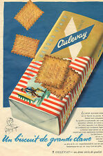 PETIT BEURRE FINOR OULEVAY PUBLICITE 1954