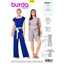 Burda - 9345 Burda niños fácil patrón de costura 9345 Verano Mono