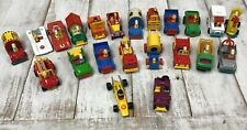Lot of 22 Vintage Aviva Peanuts Snoopy Metal Diecast Cars Trucks