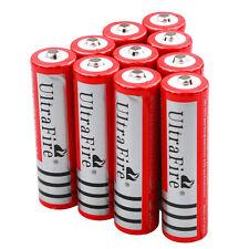 10pc 3000mah 3.7V 18650 Rechargeable Li-ion Lithium Battery Batteries USA Seller