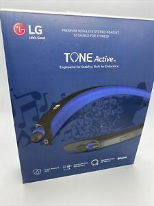 LG Tone Active HBS A80 Wireless Bluetooth Headset Sweat Resistant Headphone
