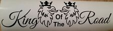"Scania Hgv Lorry Side Window Decal Sticker Griffin King Of The Road 14"" by 4"" x2"