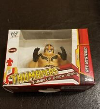 """New 2013 WWE Rey Mysterio Thumbpers Figure 2"""" Series 1 Thumbs Up Throw Down"""