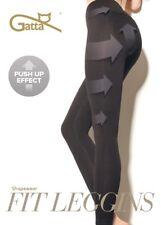 LEGGINGS GATTA FIT Leggins PUSH-UP anti-cellulite S M L XL Shapewear EMANA