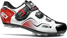 Sidi Cape MTB Vernice White-Black-Red Gr. 46