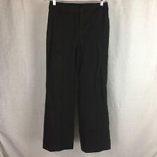 "Talbots Women's Size 6 Brown Heritage Fit Straight Leg Dress Pants Inseam 29.5"""