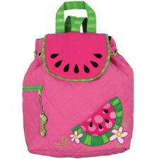 Stephen Joseph quilted backpack pink watermelon