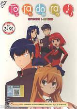 Tora Dora! ToraDora (Episode.1 - 25 End) Complete DVD Box Set English DUB