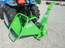 """Drum Type Wood Chipper, Tractor PTO 3-Point: Peruzzo TB100 Chip 4""""Dia x 12""""Wide!"""