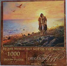 In the World Jesus 1000 piece Jigsaw Puzzle Greg Olsen SunsOut Jigsaw Art NIB