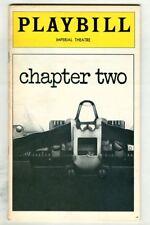 Vintage 1978 Neil Simon CHAPTER TWO Broadway Playbill! Judd HIRSCH Original Cast