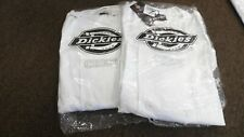 Dickies Chef Jacket Qty 2 Sz Large New In Package