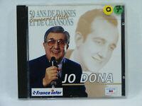 Jo DONA 50 ans de danses & chansons album CD Chanson variété Française