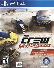 Brand NEW The Crew: Wild Run Edition PS4 Sony PlayStation 4 2015 FREE SHIPPING!