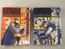 Batman The Animated Series Vol 1 & 2 DVD 1st Edition Cardboard Cases