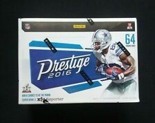 2016 Panini Prestige Football Factory Sealed Blaster Box 64 Trading Cards Inside