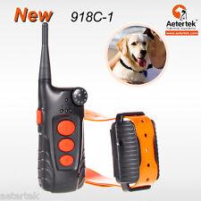 Aetertek Remote Pet Dog Training Collar Electric Shock Auto Anti Bark Waterproof
