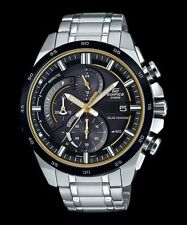 EQS-600DB-1A9 Casio Men's Watches Stainless Steel Band Analog New