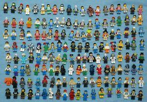 Lego x10 Figuren aus allen Bereichen Konvolut Sammlung