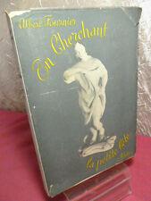 EN CHERCHANT LA PETITE BÊTE Photographies de Robert Doisneau  Edition originale.