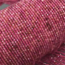 """1pcs 4MM red spinel Gemstone Loose bead 15"""" Beaded DIY Styles Hole Spacer"""