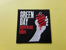 POP, ROCK, PUNK, METAL MUSIC SEW ON & IRON ON PATCH:- GREEN DAY