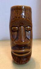 "Easter Island Tiki Face 6"" H Vase"