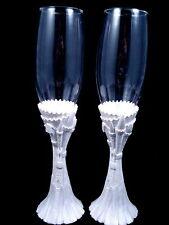 Cinderella Fairy Tale Castle Wedding reception Toasting Glasses