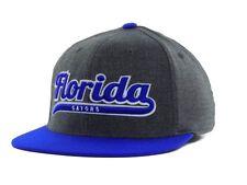 Florida Gators Top of the World Flat Bill Stretch Fit Script Cap NWT Size M/L
