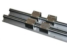 2 set of SBR16 1000mm full supported linear rail shaft rod +4 SBR 16UU