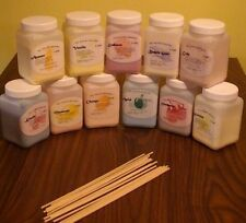 6 x Candy Floss Flavouring Colouring Powder Concentrate