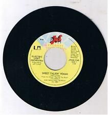 "ELECTRIC LIGHT ORCHESTRA ""Sweet Talkin' Woman/Fire on High""  7"""
