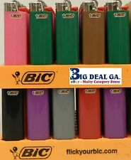 50 Bic Regular Size Lighters New Lighter Wholesale Assorted Display Disposable