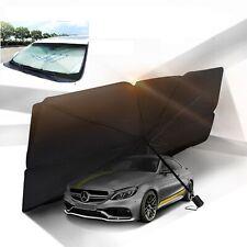 Moonshuttle Car Windshield Sun Shade Umbrella Easy Spread and Folding Keep Cool