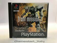 FRONT MISSION 3 - SONY PS1 - USATO PERFETTAMENTE FUNZIONANTE PAL UK VERSION