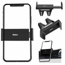 Elekin Téléphone Voiture Support Grille d'Aération  360° Universel Double Clip