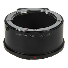 Fotodiox Pro Lens Adapter Contax/Yashica Lens to Nikon Z-Mount Z6 and Z7