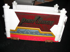 Vintage 1990's Power Rangers Tractor Trailer Trailer - Has wheels