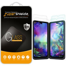 Tempered Glass Screen Protector (2x Glass Main + 2x PET Dual) for LG G8X ThinQ