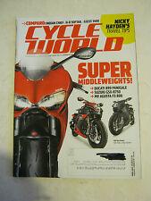 April 2014 Cycle World Magazine - Indian Chief vs H-D Softail vs Guzzi (BD-24)