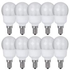 10x Paulmann ESL Lampe à économie d'énergie Gouttes 5W = 20W E14 mat blanc chaud