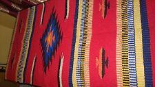 "New Handwoven Hacienda Rug 20"" x 40"" Southwest & Native Style! High Quality"
