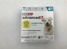 DogMd Maximum Defense Advanced 2 Flea Treatment for Dog 4 Pack M Dog 11-20lbs 1B