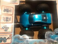Cyclone All Terrain Pro R/C Car BLUE w/ Quick Charger Extra Battery