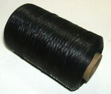 Artificial Sinew Cone Waxed Thread Sinue 300 Yard 70# Primitive Beading BLACK